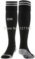 New Real Madrid black Thai socks real madrid soccer socks football best thai quality soccer socks