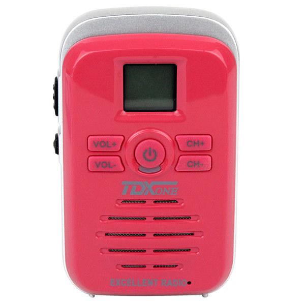 New Red Walkie Talkie DC-Q3 UHF 450-470MHz 16CH 3W FM Radio Scan Monitor Emergency Alarm Flashlight Two Way Radio A7134C(China (Mainland))