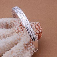 Free Shipping Fashion 925 Silver Fashion Bangle Bracelet for Women Jewelry Factory Price SMTB189