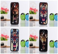 Animal  Lion Wolf Dog Tiger Printed Back Cover Skin Shell Hard Plastic Cell Phone Case Styles For Samsung I9500 Galaxy S IV S4
