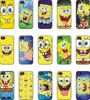 15 pcs /lots wholesale Spongebob hard back case cover for iphone 6 6s 4.7 inch free shipping