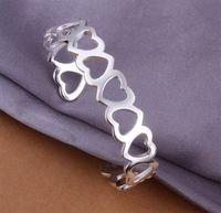 B191 925 sterling silver bangle bracelet, 925 silver fashion jewelry Bangle /apzajhga axyajpfa