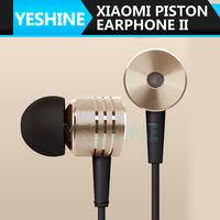 Free shipping Original Xiaomi Piston Earphone II 2 High Quality Headphone Headset With Remote & Mic For Xiaomi Phone