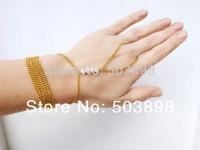 Retail Style HE035 Women Fashion Hand Jewelry Metal finger Bracelets Bangle Cross Chains  Body chain