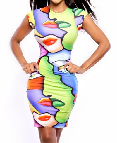 Женское платье E-commerce 2015 Bodycon 10454640