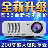 HD projector HD home projector 5200 Lumens 1280*800 10000:1 1080p 3D projector era figure America