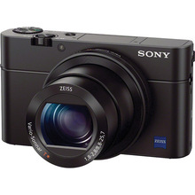 Sony Cyber-shot DSC-RX100 III Digital Camera (Black Card)
