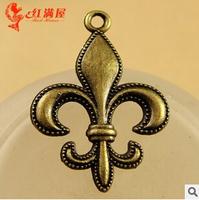 A3594  50pcs/lot size 20*28mm color bronze   Sakura  Antique diy pendant Jewelry findings nickel free zakka