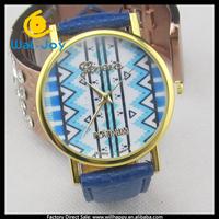 100/lot alibaba cheap hot sale pretty feature stylish Geneva women wrist watch(WJ-2858)