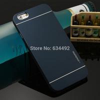 Motomo Luxury Metal Brush Hard Case for Apple iPhone 6 Plus Back Cover Aluminum Back Case Capa Celular K20299