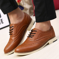 freeshipping 2014 fashion new sandals man oxford shoes high brand casual leather top quality men sapatos daily loafers chaussure