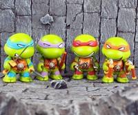2014 new ninja turtle figure 4 in 1 cute