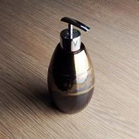 Ceramic lotion bottle hand sanitizer bottle perfume bottle shower gel bottle 8.5*8.5*19cm