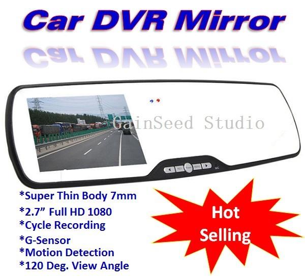 Автомобильный видеорегистратор New Brand 2.7 DVR 1920 * 1080P Full HD, 120