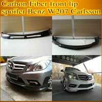 hot sale Carbon Fiber front lip spoiler Benz W207 Carlsson