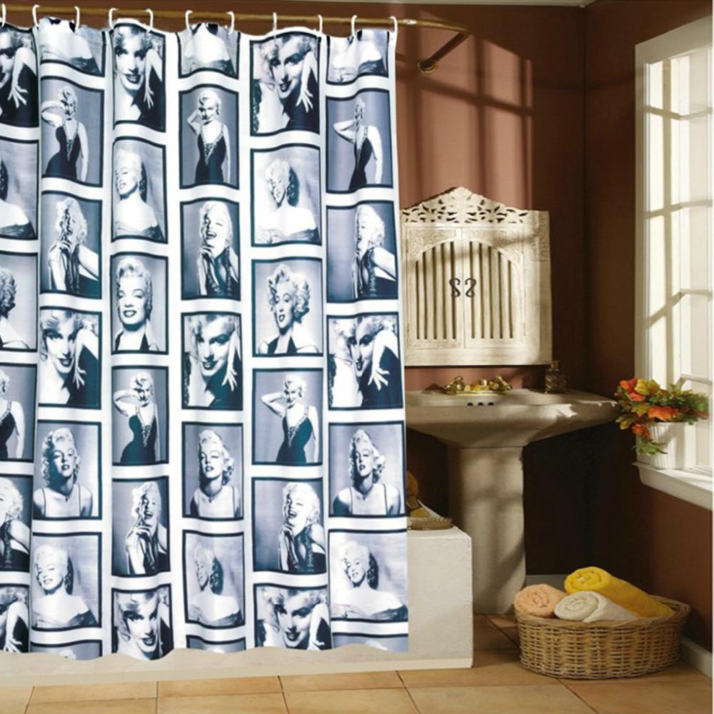 Unterputz Armatur Dusche Abdichten : Stoff Vorhang Dusche : stoff aus China marilyn monroe stoff