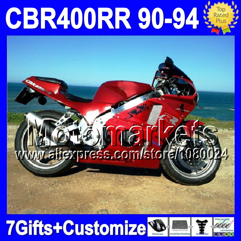 Мото обвесы 7gifts HONDA CBR400RR NC29 CBR400 90 91 92 93 94 M5621 CBR 400RR 1990 1991 1992 1993 1994 1 pcs high quality heidelberg parts new board ltk50 91 144 8021 01a water reel drive circuit board ltk 50 91 144 8021