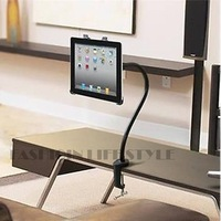 Drop Shipping  Universal Tablet Mount Rotating Bed Tablet PC Holder SV002530 #A
