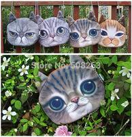 2014 Fashion Ladies Handbag Cat Face Canvas Women Shoulder Bags Cute Bag Brand Quality HB02