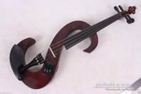 4 string 4/4 Electric violin patent silent Solid wood Top grade New