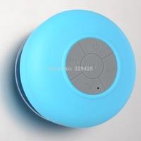 Mini Waterproof Wireless Bluetooth Handsfree Car Shower Home Mic Speaker F1908 T