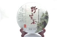 From The primeval forest wild Pu'er tea, 2014yr Yunnan Wild material  Pu'er Tea Cake/Raw/Sheng 357g/cake
