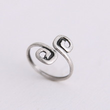 Women Lady Unique Retro Silver Plated Nice Toe Ring Foot Beach Jewelry Celebrity Retro Toe Ring