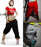 hip-hop dance designated trendsetter cotton sports lovers pants summer thin Plus size