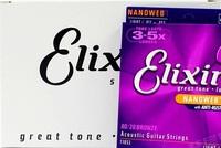 Retail Elixir 11052 Acoustic guitar strings Nanoweb ultra thin coating .012 - .053