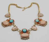 2014 new fashion romantic retro gem necklace  A91