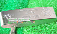 New Golf Clubs Heads MS MUTA RiE Golf Putter Head White Color Club No Shaft EMS Free Shipping