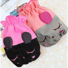 free shipping Flannelette sleeve cuff children flannel Korean cute baby cuff(China (Mainland))