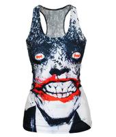 EAST KNITTING 2014 new  summer women t-shirt 3D vampire Vest top  Camisole Sexy Tank top