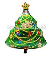 """Balloon Christmas tree Party Decoration Xmas Tree balloon  Baby Kids Cartoon Balloons Gift  3 pcs/lot  29.5"""""""