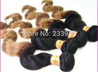Malaysia hair shade gradient color big wave