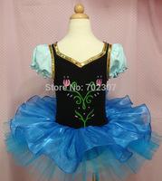 retail 2014 new Christmas kids Mini dress style hot sale Character girl dance dress  free shipping