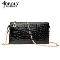 Ms. crocodile clutch bag 2014 new wave of female candy colored female clutch bag wrist phone