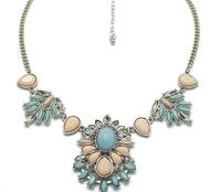 2014 new fashion romantic retro gem necklace  A81