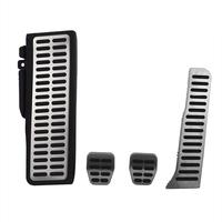 For Volkswagen Jetta MK6 Fuel Brake Clutch Foot Rest MT Pedal Covers 4Pcs Full Set