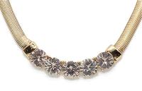 2014 new fashion romantic retro gem necklace  A79