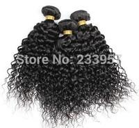 Human hair small volume curtain