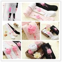 1Pcs New Fashion Girls Socks Cute Kids Toddlers Dancing Girls Soft Ballet Cotton Leggings Tights Socks Girls Pantyhose 673607