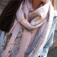 New 2014 Women Scarf Ladies Voile Wrap Lady Neck Scarves WS023