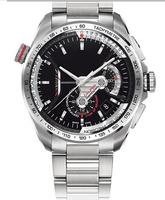 Hot sales brand fashion luxury mens Watch Silver Strap Mens Stainless steel Wristwatch