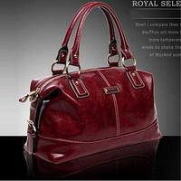 Hot SALE Casual PU Leather bags women messenger bag Retro Shoulder Handbag Vintage Shoulder Crossbody Bags 7297.E free shipping