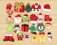 free shipping mix Christmas resin cabochons 50pcs/lot free shipping