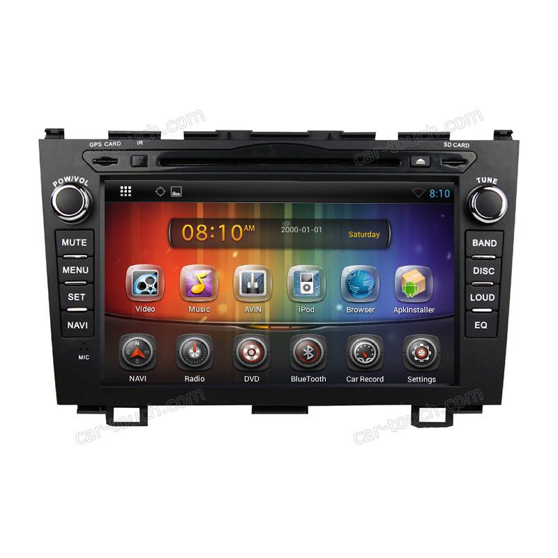 mini portable air conditioner car with car radio decoding software for Honda CRV 2006-2011(S8034) with usb car radio cd player(China (Mainland))