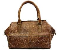 2014 New Women's personalised genuine leather handbags Brown bags