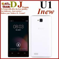 In stock! 2014 new phone original phone Inew u1 mtk6572m dual core 512MB RAM 4GB ROM Android 4.4 dual sim gps mobile phone