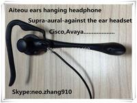 Aiteou High definition HD voice Earphone,Ears hanging headphone,supra aural against the ear earphone, headset,single ear headset